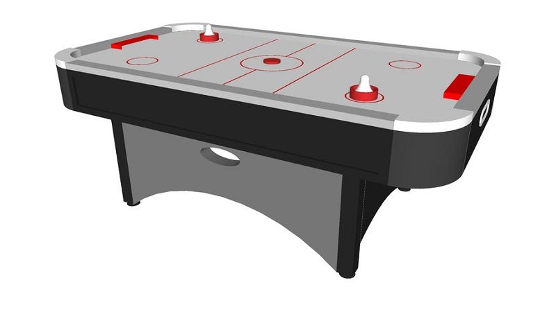 Air Hockey As Therapy For Abandoned Children